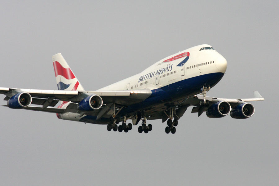 Boeing 777 Jet British Airways